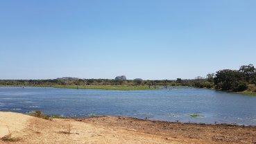 Lago em Yala.