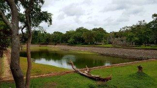 Elephant Pond: construção antiga para armazenamento de água.