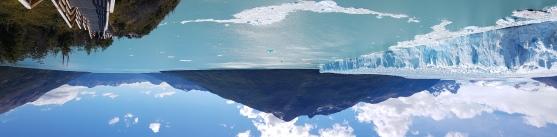 Perito Moreno e lago Argentino.